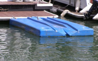 Jet Ski Floating Dock  Sold by HCHS