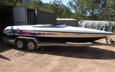SPEEDBOAT: SKICRAFT EXCEL i  SOLD by HCHS